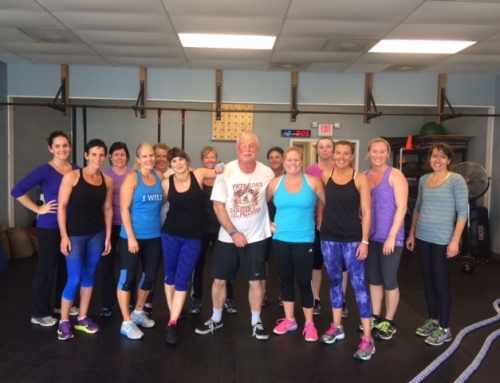 Intro class at The Training Room, Manasquan