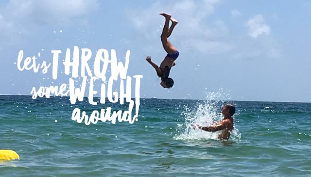 Throw Your Body Weight Strength Around