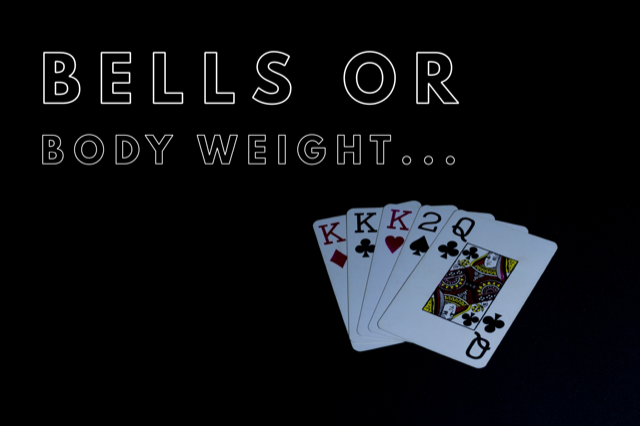 Kettlebell or Body Weight Deck of Cards Workout